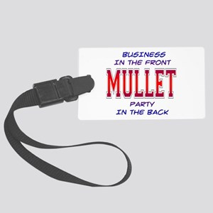 3-Mullet Large Luggage Tag