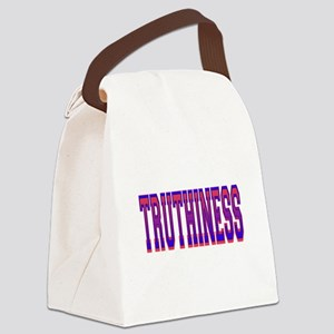 Truthiness Canvas Lunch Bag