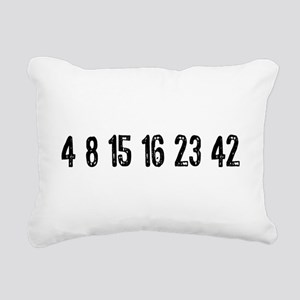 Lost Numbers Rectangular Canvas Pillow