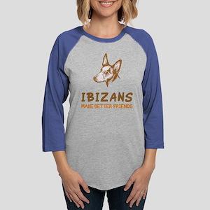 Ibizan HoundB Womens Baseball Tee