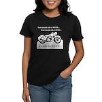 I Ride To Live Women's Dark T-Shirt