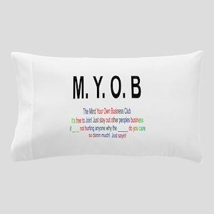 M.YO.B Club Pillow Case