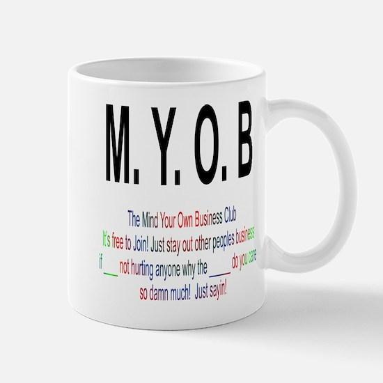 M.YO.B Club Mug
