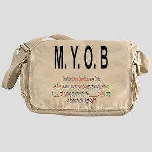 M.YO.B Club Messenger Bag
