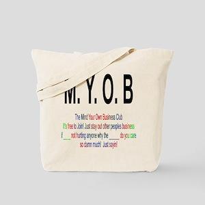 M.YO.B Club Tote Bag