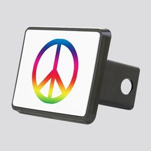 Peace sign Rectangular Hitch Cover