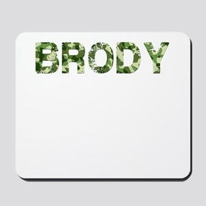 Brody, Vintage Camo, Mousepad