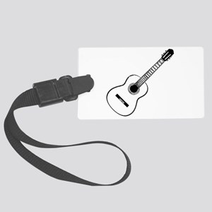 acoustic Large Luggage Tag