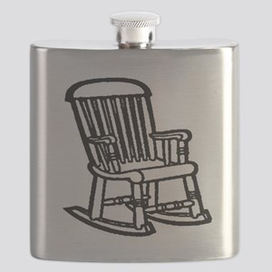 rocking chair photoshopped Flask