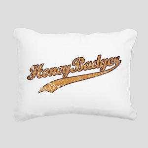 team_Honey-Badger2 Rectangular Canvas Pillow