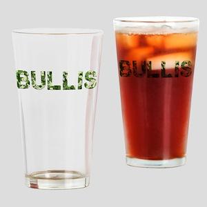 Bullis, Vintage Camo, Drinking Glass