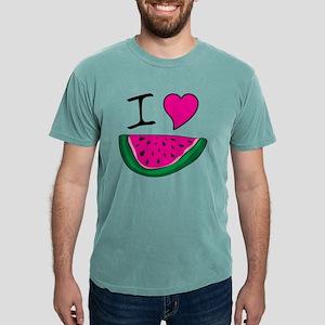 I Love Watermelon Mens Comfort Colors Shirt