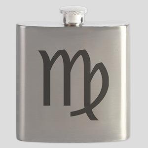 VIRGO SYMBOL Flask