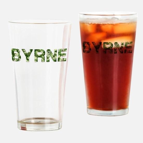 Byrne, Vintage Camo, Drinking Glass