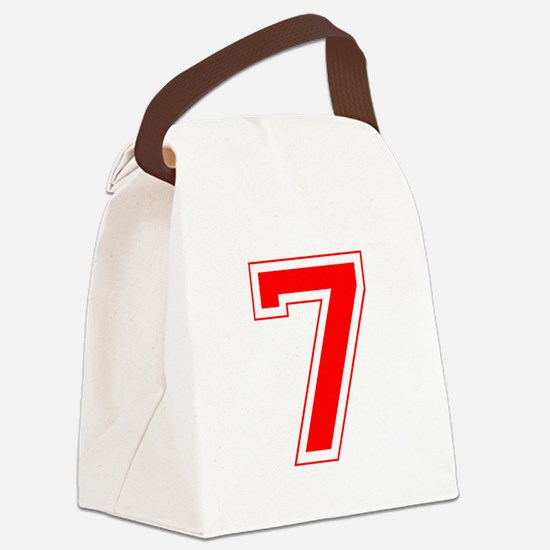 7 red.png Canvas Lunch Bag
