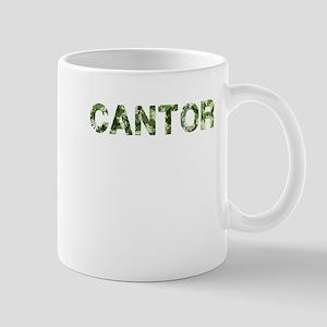 Cantor, Vintage Camo, Mug