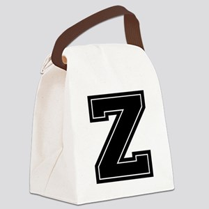 Letters Canvas Lunch Bag