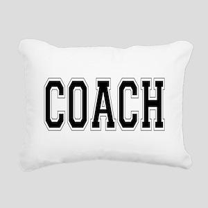 Coach Rectangular Canvas Pillow