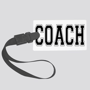 Coach Large Luggage Tag