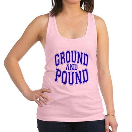 Ground and Pound.png Racerback Tank Top