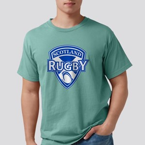 rugby ball shield scotla Mens Comfort Colors Shirt
