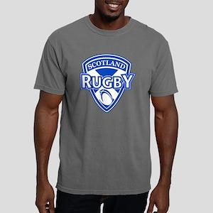 rugby ball shield scotla Mens Comfort Colors Shirt