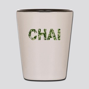 Chai, Vintage Camo, Shot Glass