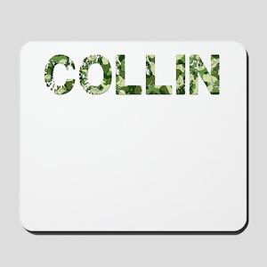 Collin, Vintage Camo, Mousepad