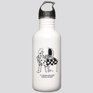 Social Security Cartoo Stainless Water Bottle 1.0L