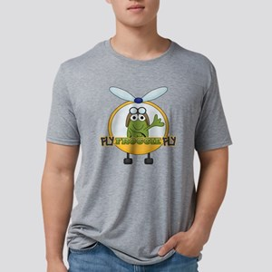 Frog Helicopter Pilot Mens Tri-blend T-Shirt