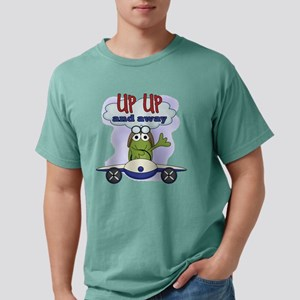 Frog UP UP and Away Mens Comfort Colors Shirt