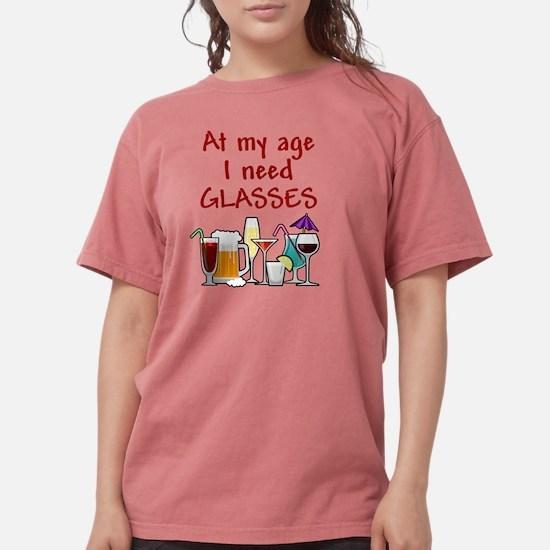 I need glasses Womens Comfort Colors Shirt
