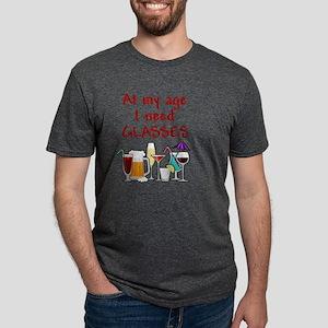 I need glasses Mens Tri-blend T-Shirt