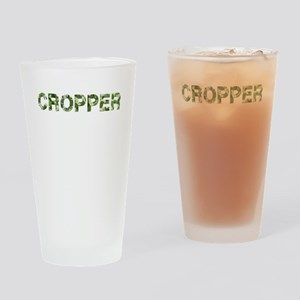 Cropper, Vintage Camo, Drinking Glass