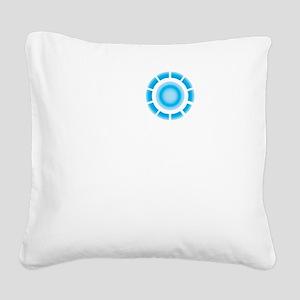 I (heart) Tony Stark Square Canvas Pillow