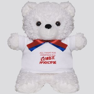 Christmas Zombie Apocalypse Teddy Bear