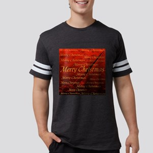 merry christmas tile1 Mens Football Shirt