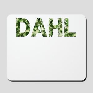 Dahl, Vintage Camo, Mousepad