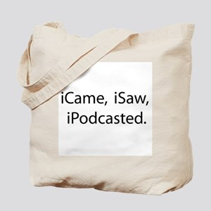 Podcast Tote Bag