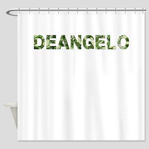 Deangelo, Vintage Camo, Shower Curtain