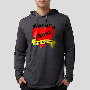 Worlds Best Truck Driver Mens Hooded Shirt