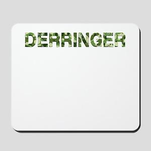 Derringer, Vintage Camo, Mousepad