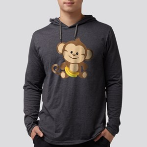 Boy Monkey Mens Hooded Shirt