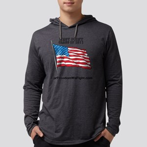 For Freedom We Fight Flag Mens Hooded Shirt