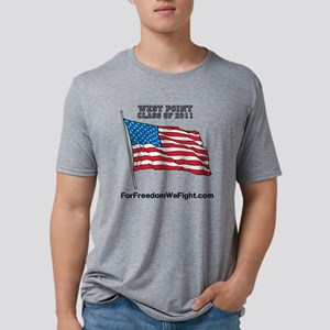 For Freedom We Fight Flag Mens Tri-blend T-Shirt