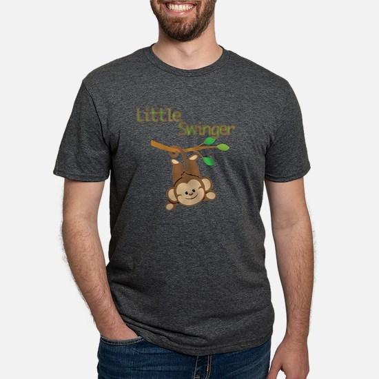 Boy Monkey Little Swinger Mens Tri-blend T-Shirt