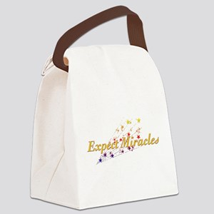 Expect Miracles Canvas Lunch Bag