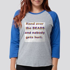 4-3-Hand It Over2 Womens Baseball Tee