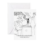 Bee Cartoon 6890 Greeting Cards (Pk of 10)