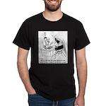 Bee Cartoon 6642 Dark T-Shirt